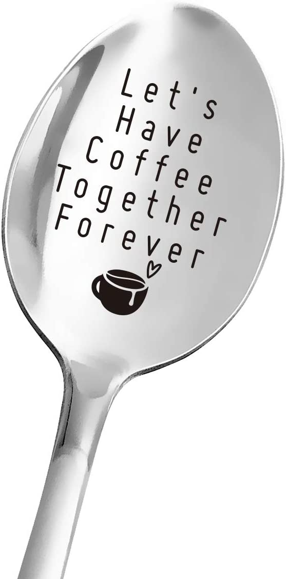 Funny 5 Limited Special Price popular Coffee Spoon Engraved Stainless for Women Steel Men