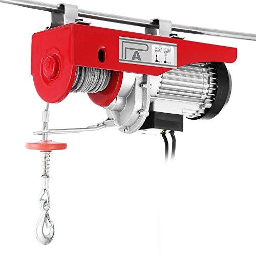 VEVOR Electric Hoist Lift 440LBS 200KG Overhead Electric Hoist 110V Electric Wire Hoist Remote Control Garage Auto Shop Overhead Lift
