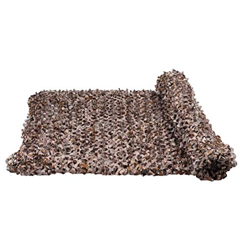 Hunting Decoration Netting Camouflage Net Military Reinforced Brown Canopy for Hunting Hidden Camping Garden Gazebo Terrace Greenhouse Pergola Decoration 3x4m Shade Sail Fabric Sun Shade for Patio