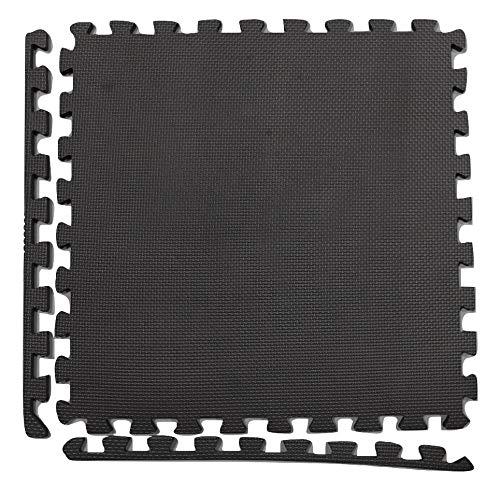Suelo goma eva o suelo puzle. 60x60, espesor 10 mm, total 2,22 m2. Útil como alfombra puzle de goma eva. Pack 6 losetas.