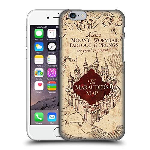 Head Case Designs Ufficiale Harry Potter The Marauder's Map Prisoner of Azkaban II Cover Dura per Parte Posteriore Compatibile con Apple iPhone 6 / iPhone 6s