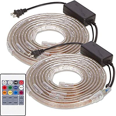 Led Lift Lighting 4 Post Lift Lights Super Bright LED Strip with Neodymium Magnets (Color LED's, 13' Lifts)