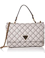 GUESS womens Cessily Convertible Xbody Flap HANDBAGS