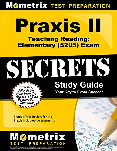 Compare Textbook Prices for Praxis Teaching Reading - Elementary 5205 Secrets Study Guide: Praxis Test Review for the Praxis Subject Assessments  ISBN 9781516712168 by Mometrix Teacher Certification Test Team