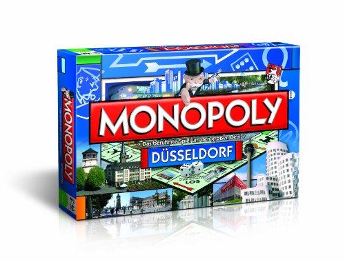 Winning Moves 40866 Monopoly Düsseldorfer Edition - Das berühmte Spiel um den großen Deal!