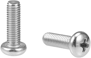 M5 Stainless Steel Phillips Pan Head Machine Screws Qty 56-Piece Assortmrnt Set,M5x8 M5x10 M5x12 M5x16 M5x20 M5x25 M5x30mm