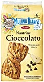 Mulino Bianco Merendine Nastrine Cioccolato, al Delicato Gusto di Pera, Snack Dolce per la Merenda - 6 Merendine
