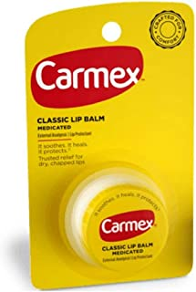 Carmex Classic Lip Balm Medicated, 0.25 oz ( Pack of 11)