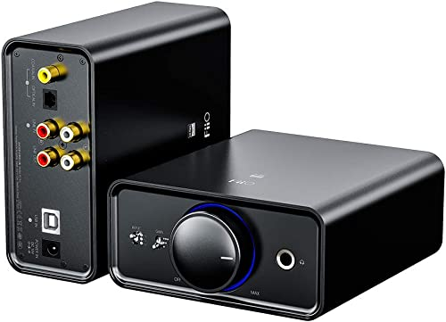 wholesale FiiO K5 Pro AK4493EQ   768K/32Bit and Native DSD 512 decoding Deskstop DAC and Amplifier for Home and Computer(6.35mm (1/4 in.) Headphone Out/RCA high quality discount line-Out) outlet sale