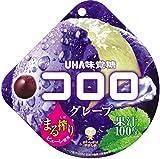 UHA味覚糖 コロロ グレープ 48g×6入 ×2箱