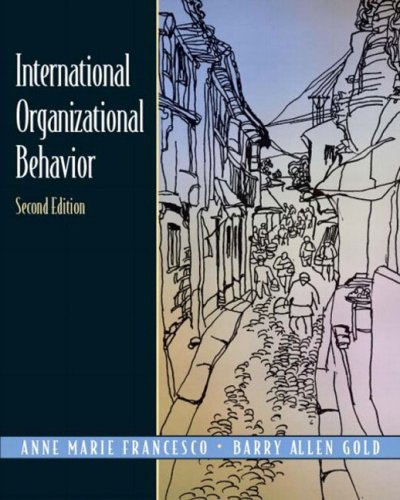 International Organizational Behavior (2nd Edition)