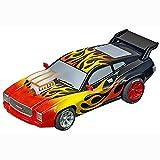 Carrera Go!!! Plus Muscle Car Flammen 64159 - Juego de luces para coche