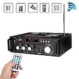 JIASHU Bluetooth Professional Home Audio Amplifier System - 600w Audio Sound Power Stereo