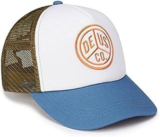 DEUS EX MACHINA (デウス エクス マキナ) メッシュキャップ 帽子 PEACE TRUCKER - OLIVE BLUE DMS67195