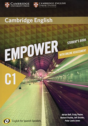 Cambridge English Empower for Spanish Speakers C1 Learning Pack (Student's Book with Online Assessment and Practice and Workbook)