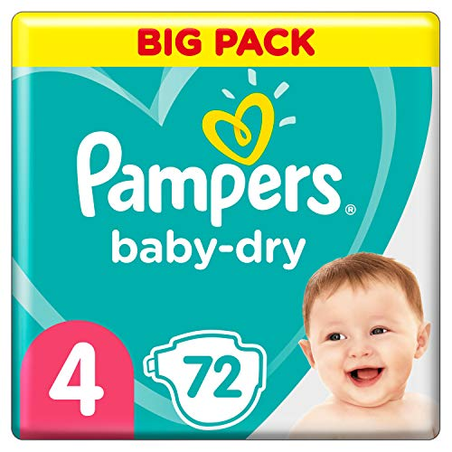 Pampers Baby Dry Gr.4 Maxi 9-14kg Doppelpack