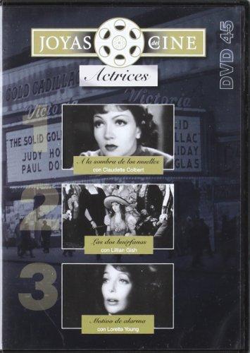 Joyas Del Cine: Actrices Nº45 (A la sombra de los muelles + Las dos huerfanas + Motivo de alarma) [DVD]