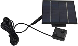 ZDYS Solar Pump for Water Fountain, Solar Powered Panel Kit Pool Garden Watering Submersible Pump, Birdbath Fountain - with Separate Solar Panel