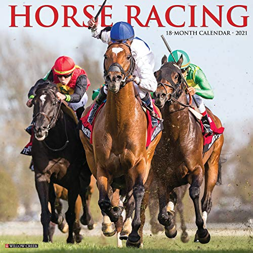 Compare Textbook Prices for Horse Racing 2021 Wall Calendar  ISBN 9781549212123 by Willow Creek Press