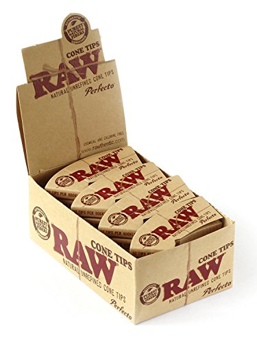RAW 18437 Cone Shaped Tips Perfecto-75 mm x 26 mm-24 Heftchen a 32 Blatt, Papier