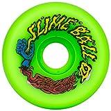 Santa Cruz Skate 97a SlimeBall Vomits Wheels, Neon Green, 60mm