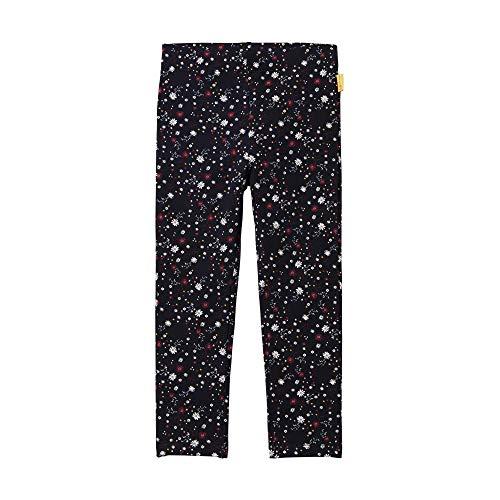 Steiff Mädchen Knitted Pants Hose,  , Blau (BLACK IRIS 3032) , 104 (Herstellergröße:104)