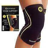 ActiveGear Knee Brace Support Heavy Duty Neoprene Sport Compression Sleeve (Large)