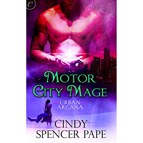 Motor City Mage audiobook cover art