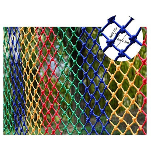 Best Bargain Safety Outdoor Railing Net Child Safety Net Balcony Protection Net Stair Safety Net Kin...