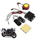 Kit di allarme antifurto per moto e bici, sistema di allarme con telecomando, 12 V, attivazione/disattivazione da remoto