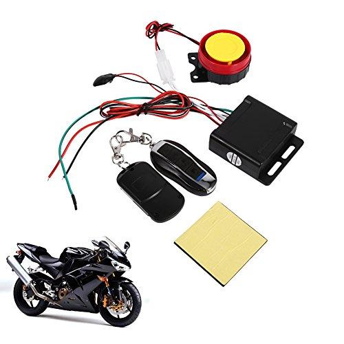 Motorrad Fahrrad Fahrzeug Diebstahlsicherung Alarmanlage Fernbedienung 12V, Anti-Hijacking Fernabschaltung Motorstart Scharfschaltung