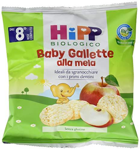 Hipp Baby Snack Gallette di Riso alla Mela - Confezione da 7 x 30 g