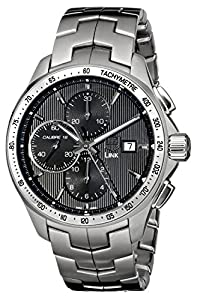 TAG Heuer Men's CAT2010.BA0952 Link Chronograph Watch Prices and For Sale and review image