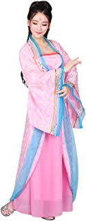 Ez-sofei Women's/Girls Ancient Chinese Traditional Hanfu Dress Tang Dynasty Cosplay Costume
