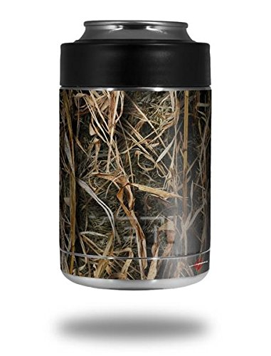 WraptorSkinz Skin Decal Wrap for Yeti Colster, Ozark Trail and RTIC Can Coolers - WraptorCamo Grassy Marsh Camo (Cooler NOT Included)