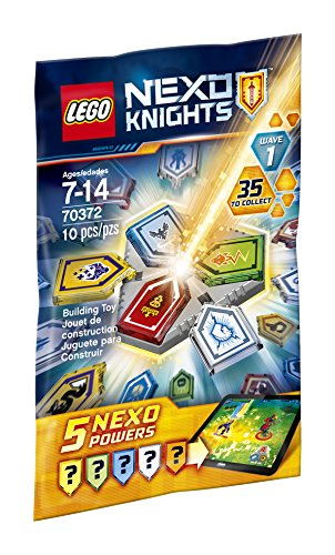 LEGO Nexo Knights Combo NEXO Powers Wave 1 70372 Kit de construcción (10 piezas)