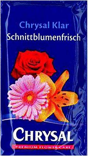 Chrysal 100 x 10g Schnittblumennahrung Blumenfrisch Blumen Frischhaltemittel 1,0l