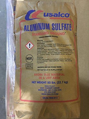 Aluminum Sulfate Al2(SO4) 3