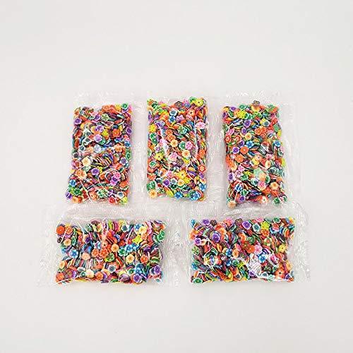 Wenwenzui-ES Slime Scheiben Frucht-Scheiben DIY Dekorationen für weiche Clay & Nail Art