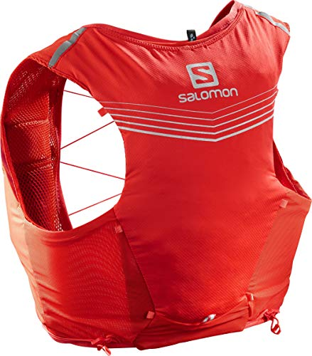 SALOMON ADV Skin 5 Set Laufrucksack Fiery red Gr. L