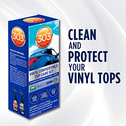 303 Convertible Vinyl Top Cleaning And Care Kit