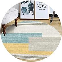 Area Rugs Round Floor Mat Nursery Rugs Modern Minimalist Cartoon Style Suitable for Living Room Coffee Table Bedroom Chemi...