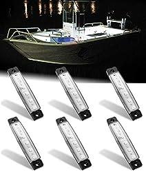 top rated Shangyuan indoor marine light bar, 6 LED strips, marine theme LED light bar, white LED … 2021