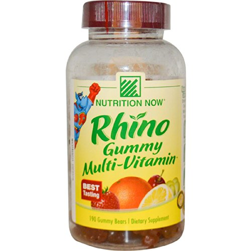 Nutrition Now Rhino Gummy Multi-Vitamin - 190 Gummy Bears