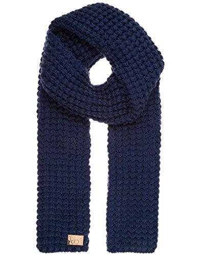Berydale Damen Grobstrickschal in weicher, wärmender Qualität, Gr. One size Blau (Marine)