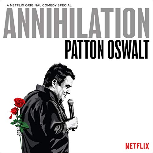 Patton Oswalt cover art