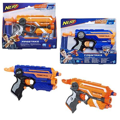 Nerf - Lanzadardos Firestrike Elite (Hasbro 53378E35) , Color/Modelo Surtido