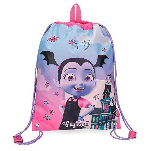 La mejor mochila para guardería de tela: Mochila saco Vampirina
