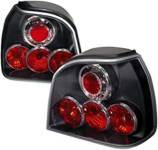 For Volkswagon Golf Gl Cl Hatchback Mk3 Black Altezza Tail Lights
