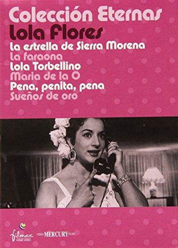 Colección Eternas Lola Flores (6 DVD's)